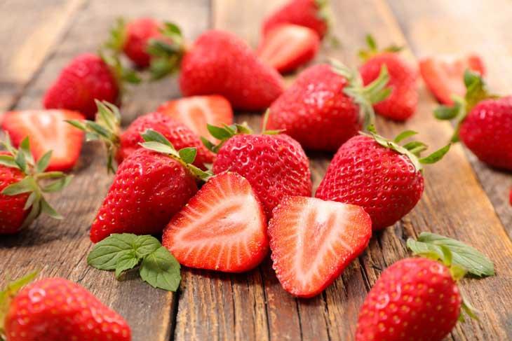 dưỡng da hoa quả