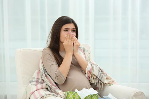 ho và cảm lạnh khi mang thai