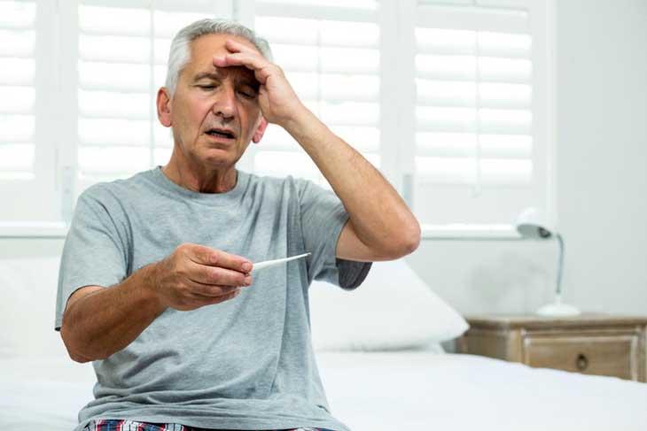 sốt ở người cao tuổi