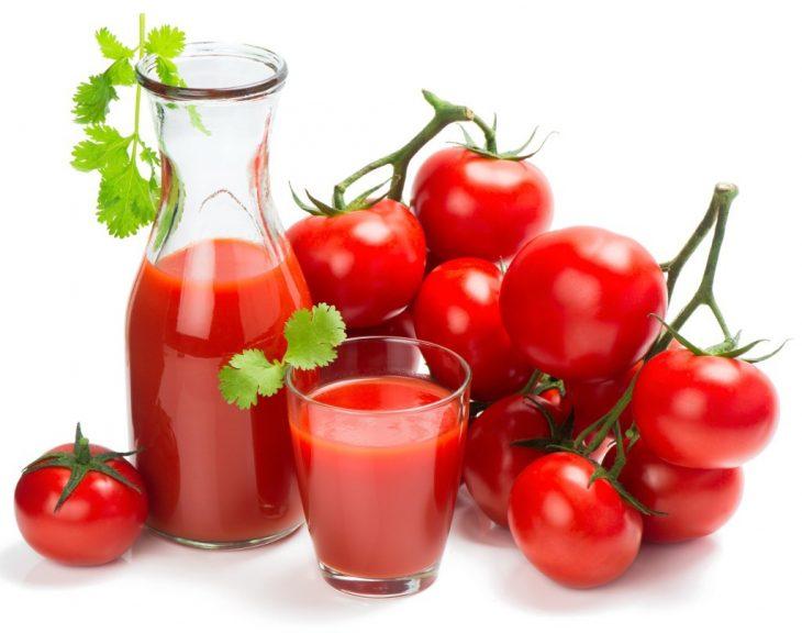Món ăn làm trắng da từ cà chua