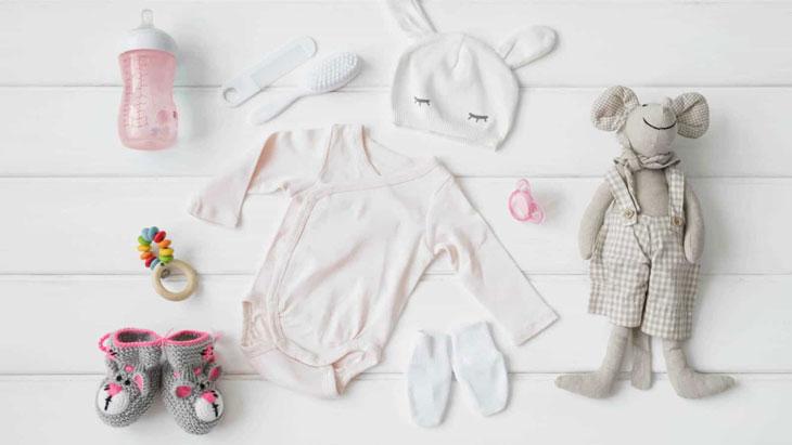 Sắm vật dụng trước ngày sinh