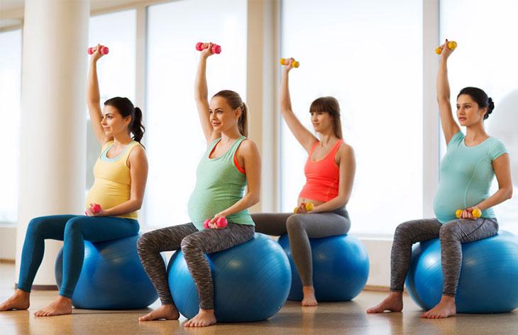 Mẹ bầu tập thể dục cần nhớ 13 nguyên tắc này