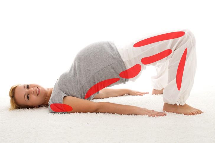 yoga với bà bầu