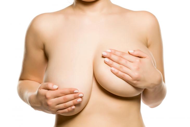 ngực thay đổi khi bầu bí