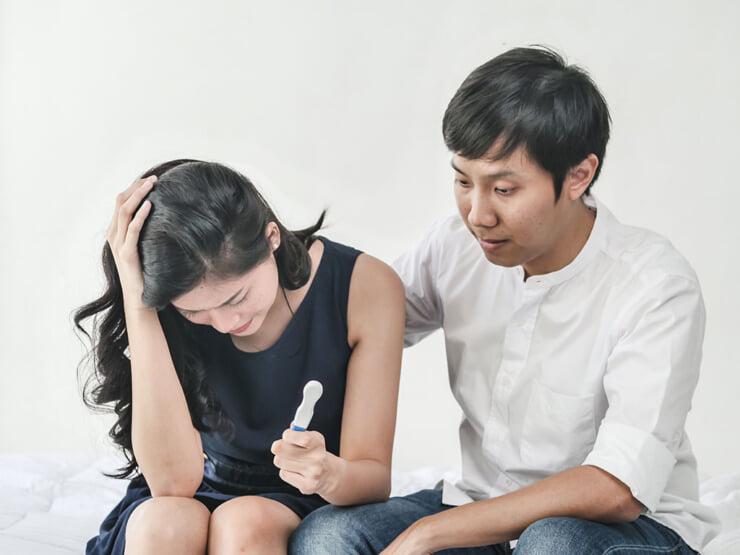 Nguyên nhân hàng đầu của việc mang thai ngoài ý muốn là không sử dụng bất kỳ biện pháp tránh thai nào khi quan hệ